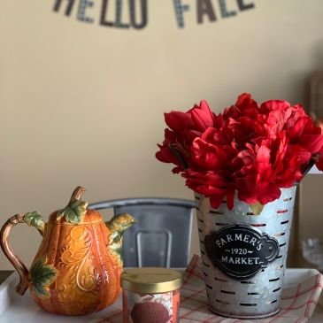 Fall Decor on a Budget Target Homegoods
